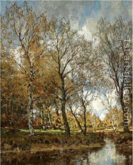 The Vordense Beek 4 by Arnold Marc Gorter - Reproduction Oil Painting