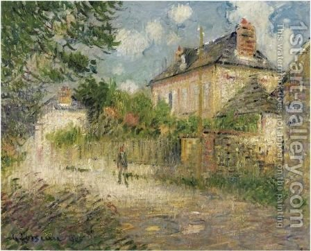 La Maison De Monsieur Compon Au Vaudreuil by Gustave Loiseau - Reproduction Oil Painting