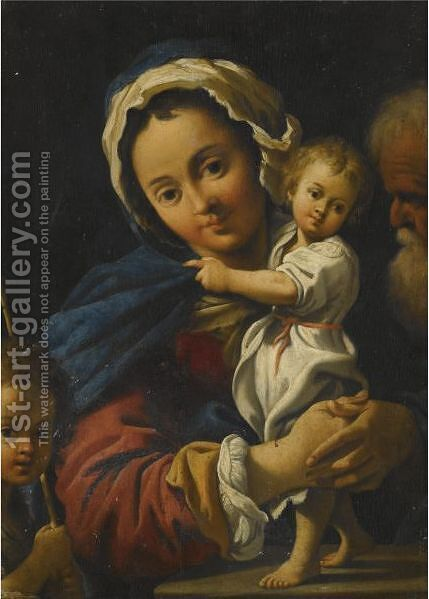 Holy Family by Bartolomeo Schedoni - Reproduction Oil Painting