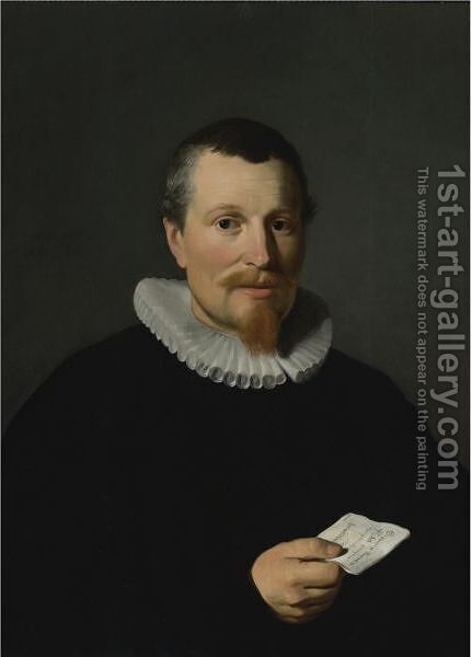 Portrait Of Jan Bruyn by (after) Thomas De Keyser - Reproduction Oil Painting