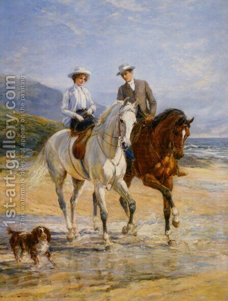 Pleasant Company by Heywood Hardy - Reproduction Oil Painting