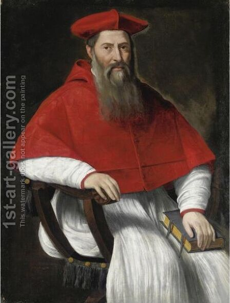 Ritratto Di Cardinale by Bartolomeo Cancellieri - Reproduction Oil Painting