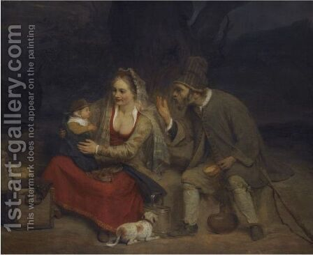The Rest On The Flight Into Egypt by Aert De Gelder - Reproduction Oil Painting
