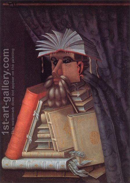 The Librarian The Librarian 1566 by Giuseppe Arcimboldo - Reproduction Oil Painting