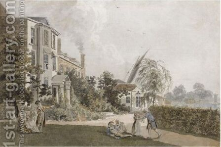 Villas At Hammersmith by James Miller - Reproduction Oil Painting