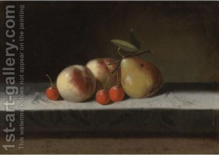 Still Life by American School - Reproduction Oil Painting