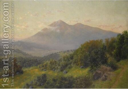 Mt. Tamalpais, California by Charles Dorman Robinson - Reproduction Oil Painting