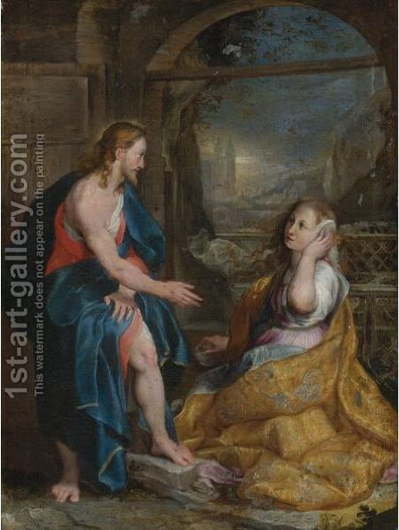 Noli Me Tangere by (after) Federico Fiori Barocci - Reproduction Oil Painting