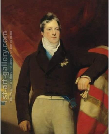 Portrait Of The Marquess Of Ely by (after) Lawrence, Sir Thomas - Reproduction Oil Painting