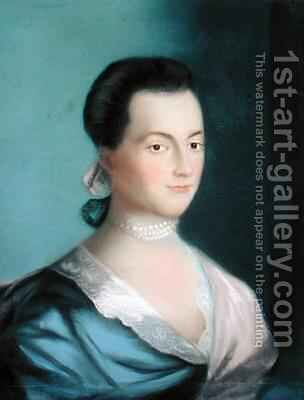 Abigail Smith Adams by Benjamin Blyth - Reproduction Oil Painting