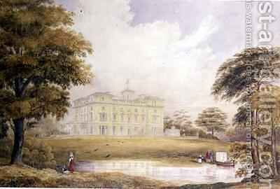 Haveringland Hall, Norfolk by Edward Blore - Reproduction Oil Painting