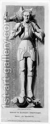 Effigy of Richard Beauchamp, Earl of Warwick (1382-1439) by Edward Blore - Reproduction Oil Painting