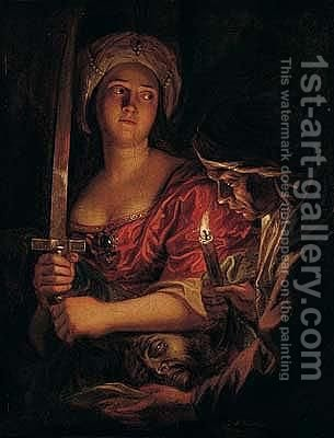 Judith And Holofernes by Antoine Coypel - Reproduction Oil Painting