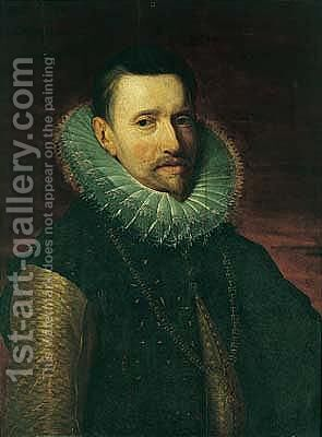 Portrait of the archduke Albert of Austria (1559-1621) by (after) Sir Peter Paul Rubens - Reproduction Oil Painting
