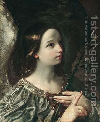 The Angel Of The Annunciation by (after) Francesco Giovanni Gessi - Reproduction Oil Painting