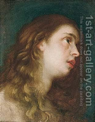 Mary Magdalene by Mateo the Younger Cerezo - Reproduction Oil Painting