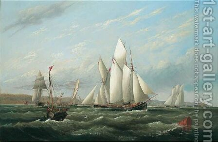 Ryde, Isle Of Wight by Arthur Wellington Fowles - Reproduction Oil Painting