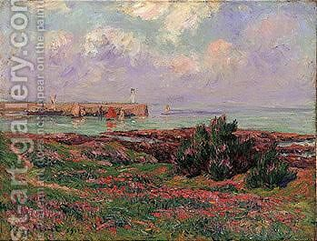 Le Matin, Dielette by Henri Moret - Reproduction Oil Painting