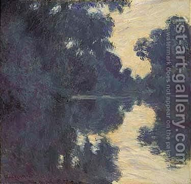 Matinee Sur La Seine by Claude Oscar Monet - Reproduction Oil Painting