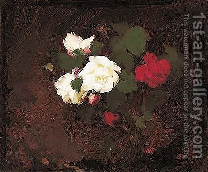 Roses 2 by James Stuart Park - Reproduction Oil Painting