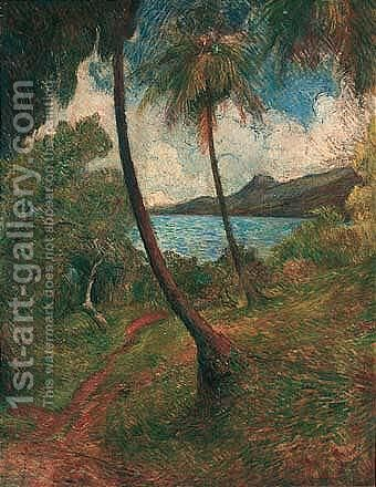 Paysage De La Martinique by Charles Laval - Reproduction Oil Painting