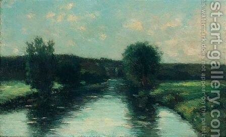 Les Bords De L'Iton by Albert Lebourg - Reproduction Oil Painting