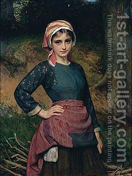 The Wood Gather by Charles Sillem Lidderdale - Reproduction Oil Painting