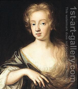 Portrait Of A Lady by Mary Beale - Reproduction Oil Painting