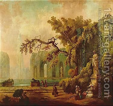 Untitled 3 by (after) Claude-Joseph Vernet - Reproduction Oil Painting