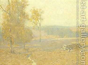 Indian summer by Bruce Crane - Reproduction Oil Painting