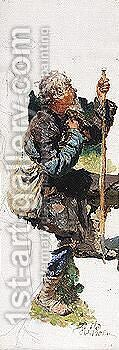 The foreigner, c.1881 by Ilya Efimovich Efimovich Repin - Reproduction Oil Painting