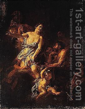Venus appearing to vulcan by (after) Gerard De Lairesse - Reproduction Oil Painting