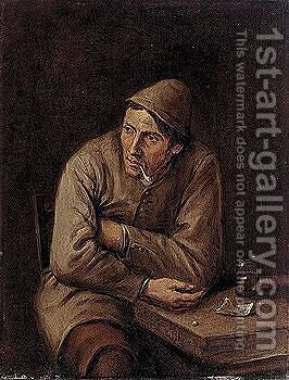 Portrait of a man by Harmen Hals - Reproduction Oil Painting