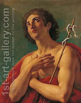 Saint John the baptist by (after) Mengs, Anton Raphael - Reproduction Oil Painting