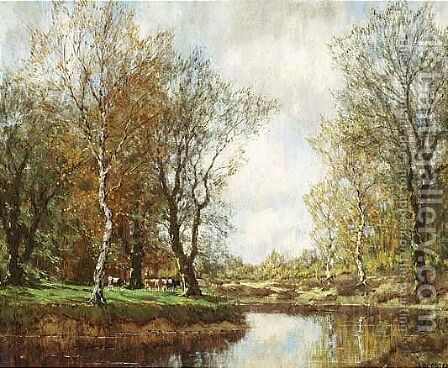 The Vordense Beek 5 by Arnold Marc Gorter - Reproduction Oil Painting