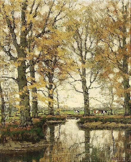 The Vordense Beek 6 by Arnold Marc Gorter - Reproduction Oil Painting