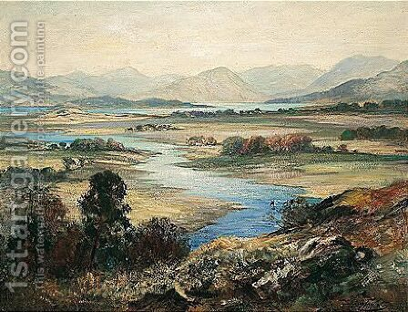 Queen's View by J. A. Henderson Tarbet - Reproduction Oil Painting