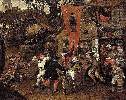 Untitled by (after) Pieter The Elder Bruegel - Reproduction Oil Painting