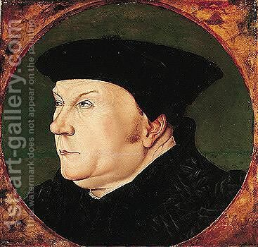 Portrait Of Thomas Cromwell, 1st Earl Of Essex (1485-1540) 2 by (after) Holbein the Younger, Hans - Reproduction Oil Painting