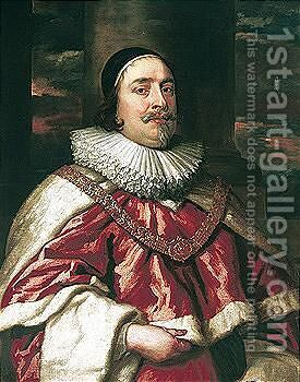 Portrait Of Sir Edward Littleton (1589-1645) by (after) Dyck, Sir Anthony van - Reproduction Oil Painting