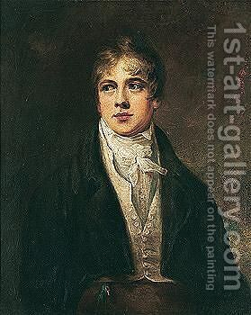 The Wass Portrait, Said To Be Of The Young J.M.W. Turner by (after) Sir Henry Raeburn - Reproduction Oil Painting