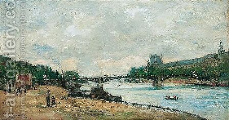 Paris, le pont des Saints-Peres by Albert Lebourg - Reproduction Oil Painting
