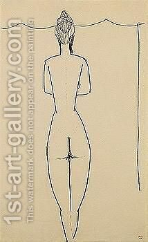 Female nude 2 by Amedeo Modigliani - Reproduction Oil Painting