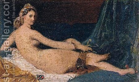 Odalisque by Jean Auguste Dominique Ingres - Reproduction Oil Painting