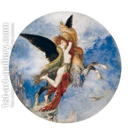 La Chimere 2 by Gustave Moreau - Reproduction Oil Painting