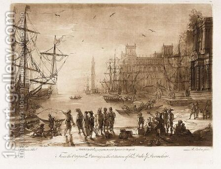 Liber Veritatis. London John Boydell, 1777 by Claude Lorrain (Gellee) - Reproduction Oil Painting