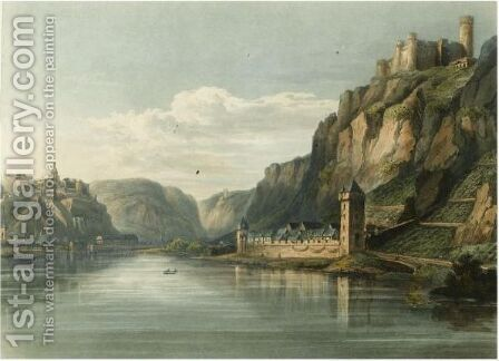 A Picturesque Tour Along The Rhine, From Mentz To Cologne. London R. Ackermann, 1820 by Baron Johann Isaac Von Gerning - Reproduction Oil Painting