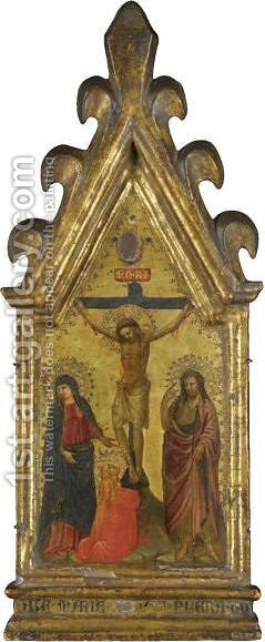 The Crucifixion by Bicci Di Lorenzo - Reproduction Oil Painting