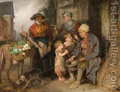 Setting off for Market by Edward Bird - Reproduction Oil Painting