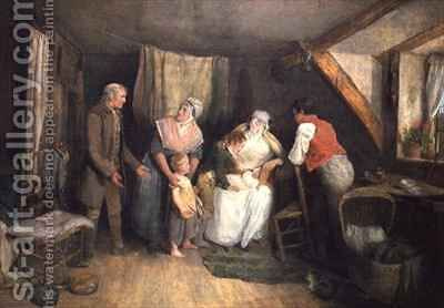 The Birth by Edward Bird - Reproduction Oil Painting